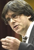Il-leader-catalano-Carles-Puigdemont